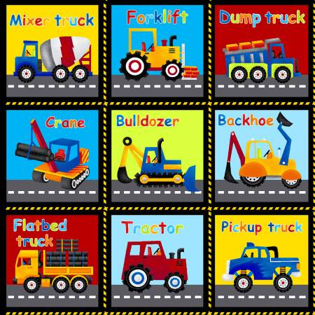 Black Truck's Name Blocks