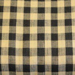 Homespun Checkered Black