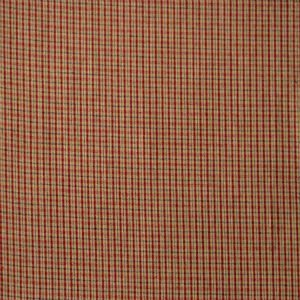 Homespun Red Checkered H33