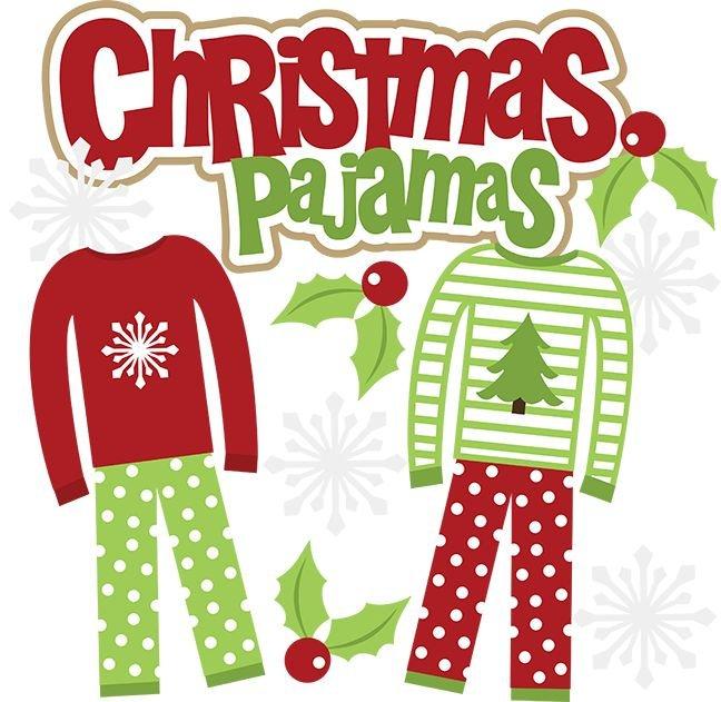 121217 Christmas Pajama Party