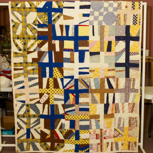 String Pieced with Patchwork