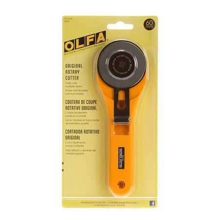 60mm Olfa Extra Large Rotary Cutter