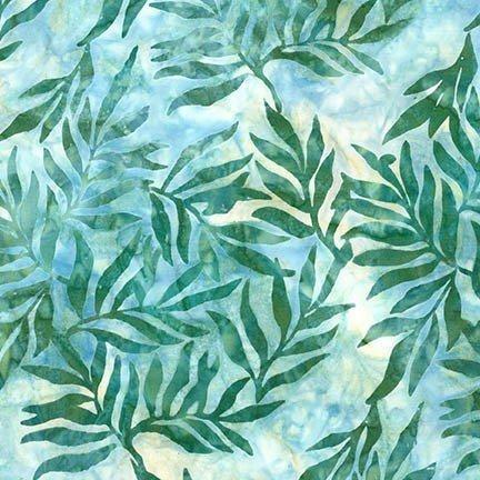 Turquoise Willow Batik (#7003)