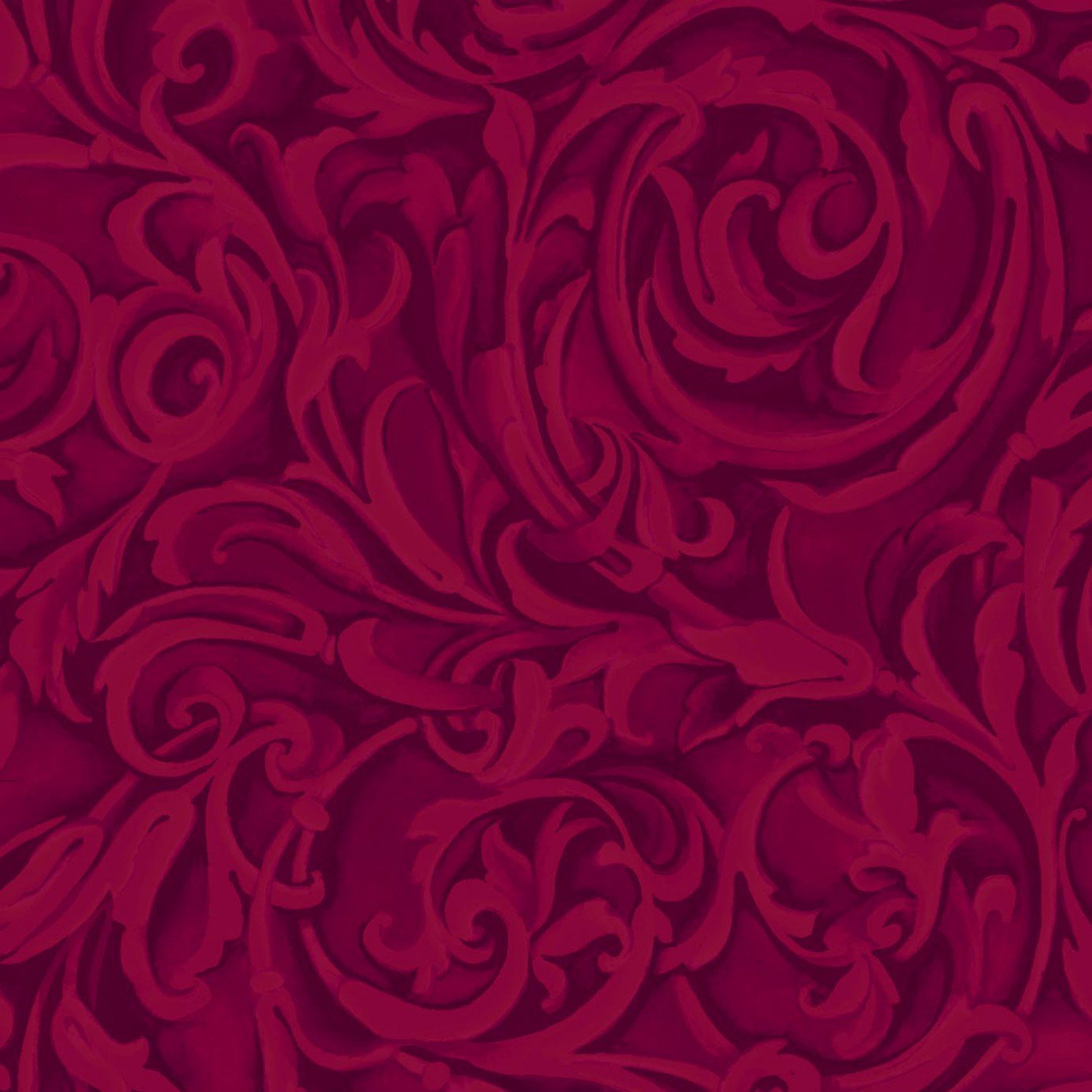 Wine Baroque Tonal Design Flourishes (#7006)