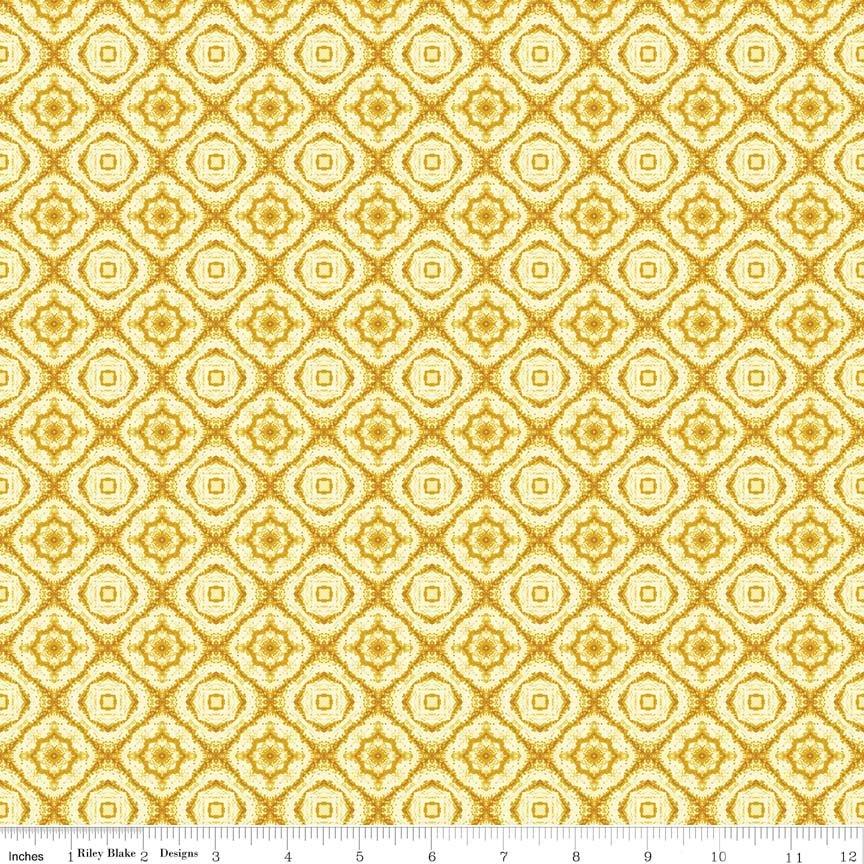 Autumn Hues - Gold Medallion (#7079)