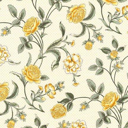 Belcourt - Large Floral - Buttercup (#7092)