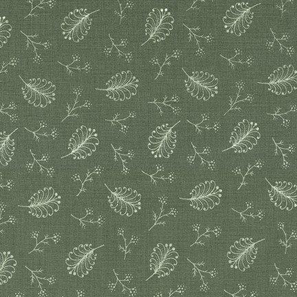 Belcourt - Green Foliage (#7090)