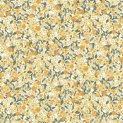 Belcourt - Small Floral - Buttercup (#7088)