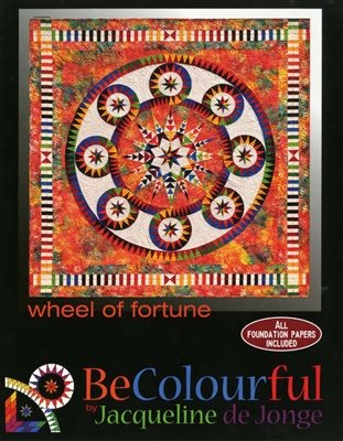Wheel of Fortune Pattern - All Foundation Papers Included