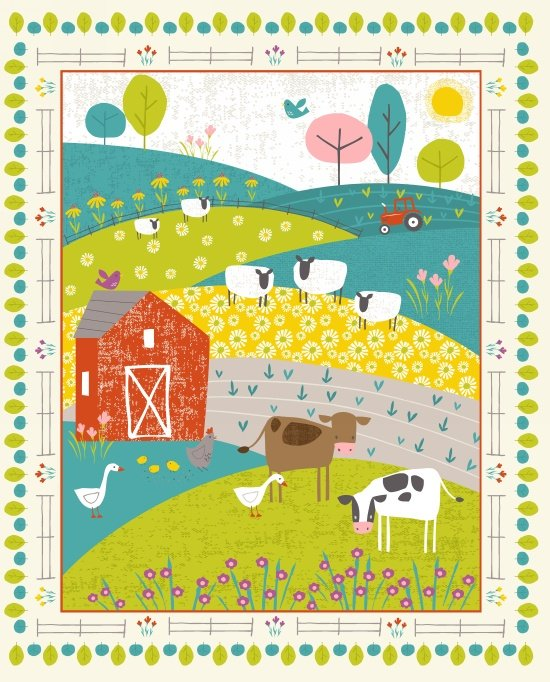 Wildflower Farm-Panel