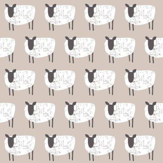 Wildflower Farm-Grey with Sheep