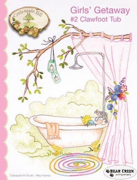 Girls Getaway #2/Clawfoot tub