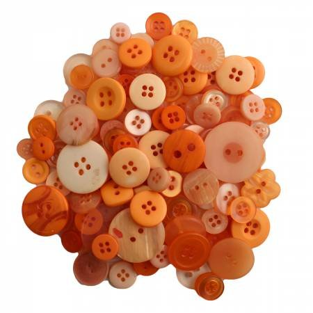 Buttons Galore 200 count Sweet Mango