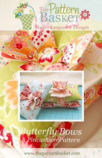 Butterfly Bows Pincushion