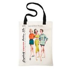 Vintage Simplicity Tote Bag