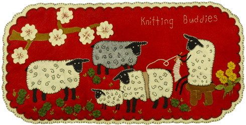 Knitting Buddies Mat Wool Kit - copy