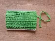 1 Cotton Lace Trim Lime Light