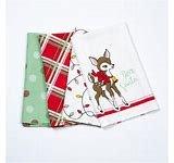 Deer Christmas Towel Set of 4