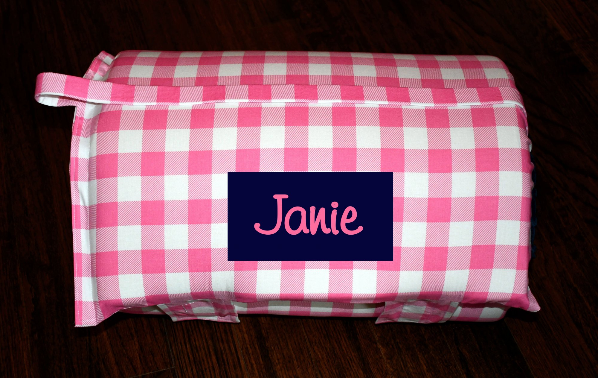 Personalized Hot Pink Check Buffalo Lumberjack Plaid 2