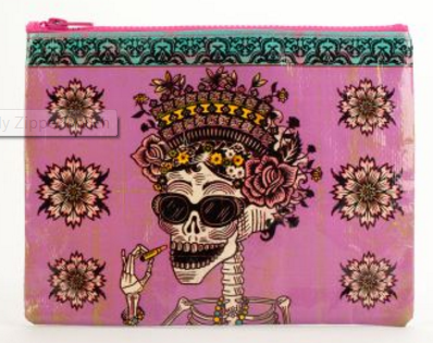 Bag: Day of the Dead Zip Pouch