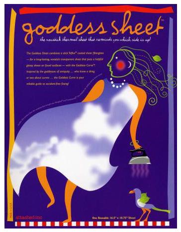 Goddess Sheet 16 1/2x10 3/4