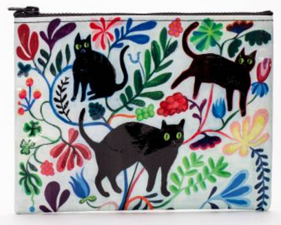 Bag: Here Kitty Zip Pouch