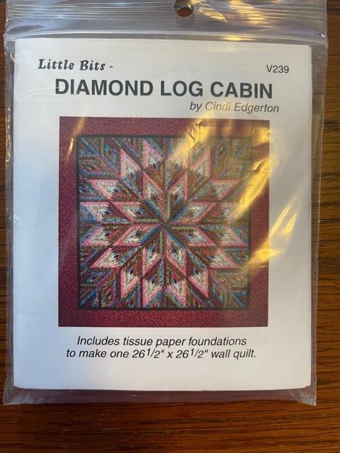 Little Bits Diamond Log Cabin