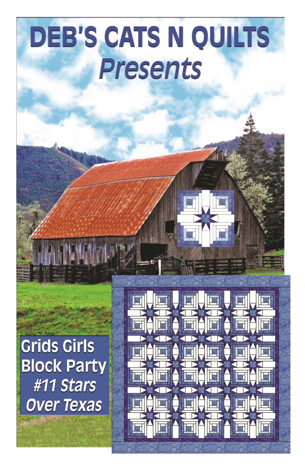 Stars Over Texas- Grids Girls block Party # 11