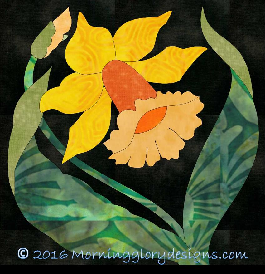 Deco Garden Bonus Block 17 Daffodil