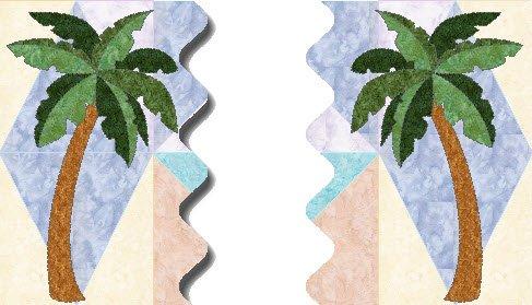Beach Dreams Block 3 Palm Trees