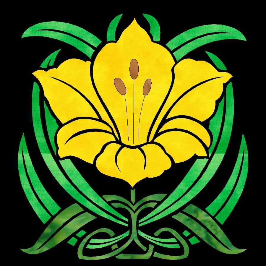 Deco Garden Bonus Block 33 Stella D'Oro Day Lily