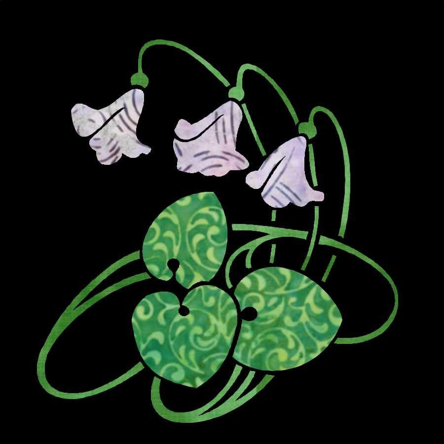 Deco Garden Bonus Block 35 Violets