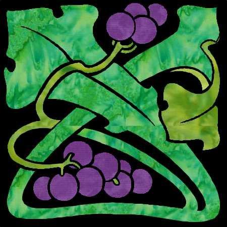 Deco Garden Bonus Block 38 Grapes