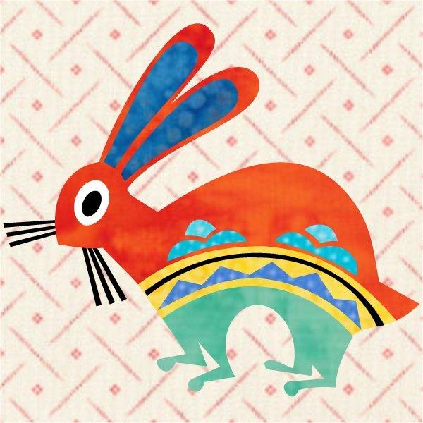 Southwest Sunrise Block 5: Rabbit