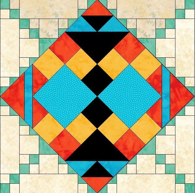 Southwest Sunrise Block 9 Setting Triangles