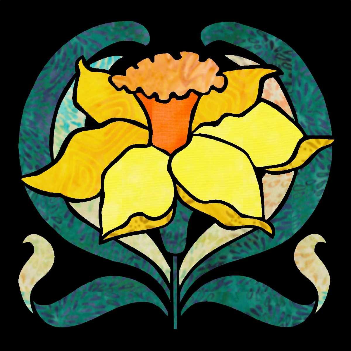 Deco Garden Bonus Block 13 Daffodil 1