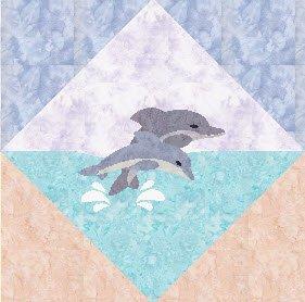 Beach Dreams Block 1 Dolphins
