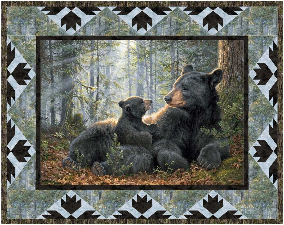 Mama and Me Panel & Lap Quilt Patterns  MGD 275