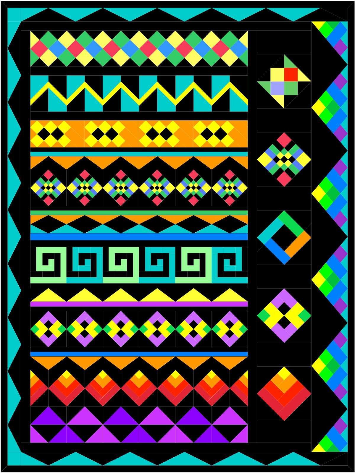 Seminole Sampler BOM Pattern MGD 410