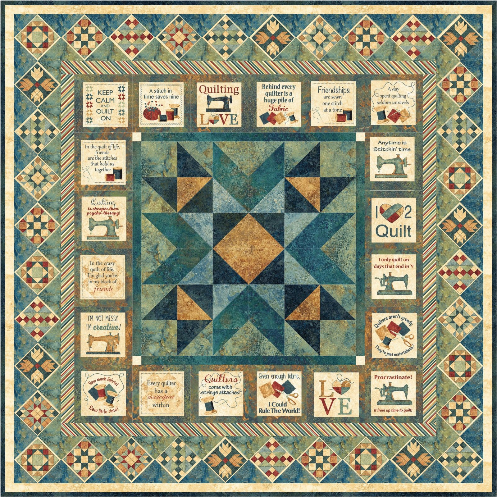 Stitch in Time Wall Quilt