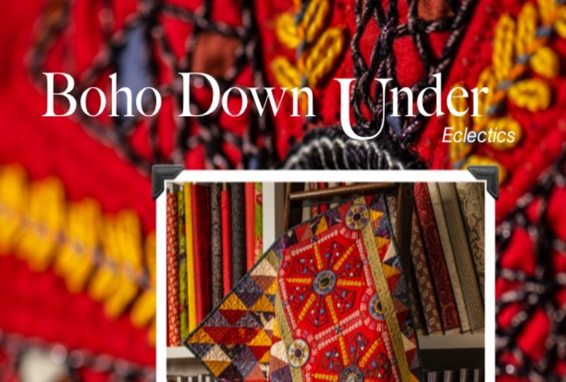 BOHO DOWN UNDER, PATTERN ONLY