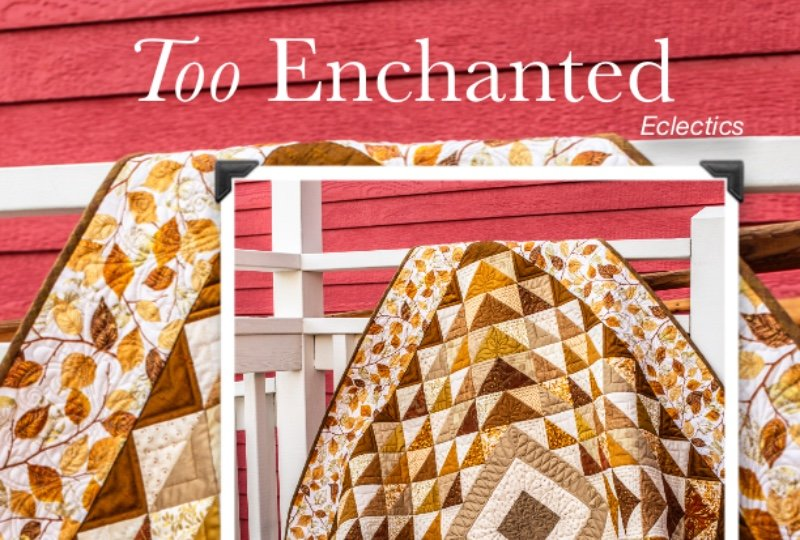 TOO ENCHANTED,  PATTERN ONLY