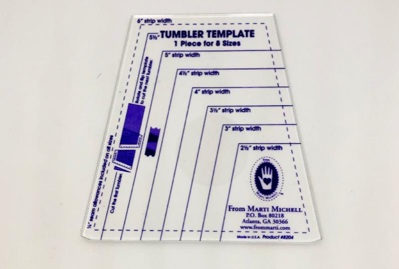 ONE-DERFUL TUMBLER / TEMPLATE RULER