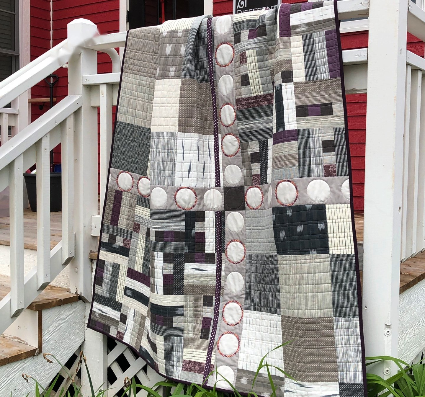 WOVEN, STONE QUILT KIT W/pattern