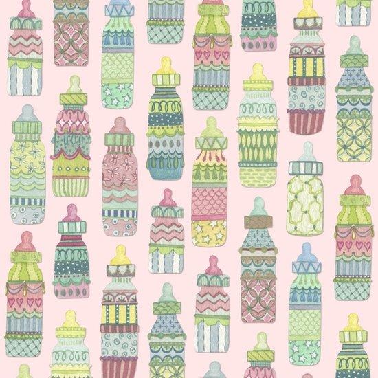 Baby Sprinkles bottles pink