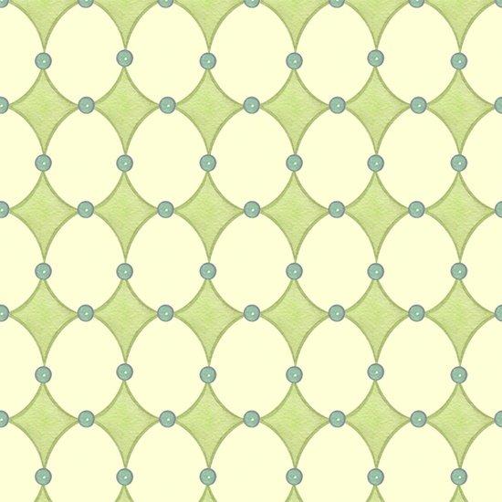 Baby Sprinkles green geometric