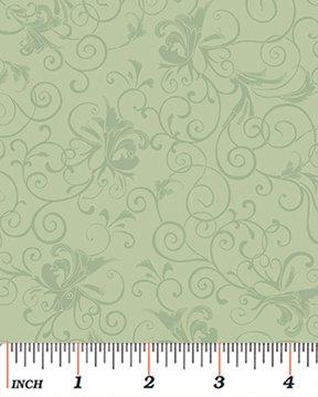 Wispy Scroll green