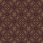 Arts & Crafts Collection tonal tile brown