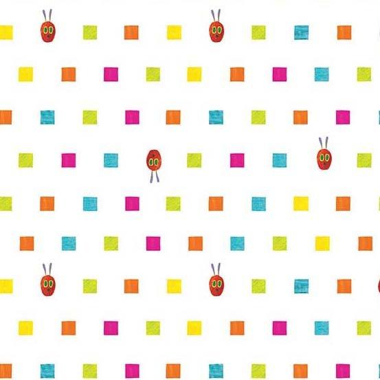 Very Hungry Caterpillar ABC's caterpillar squares