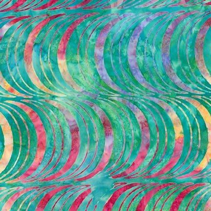 Artisan Batiks Optical Illusion multi